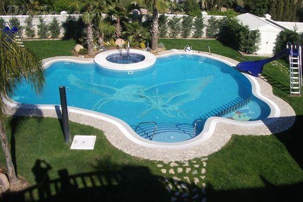 Tipos de piscina for Tipo de piscinas