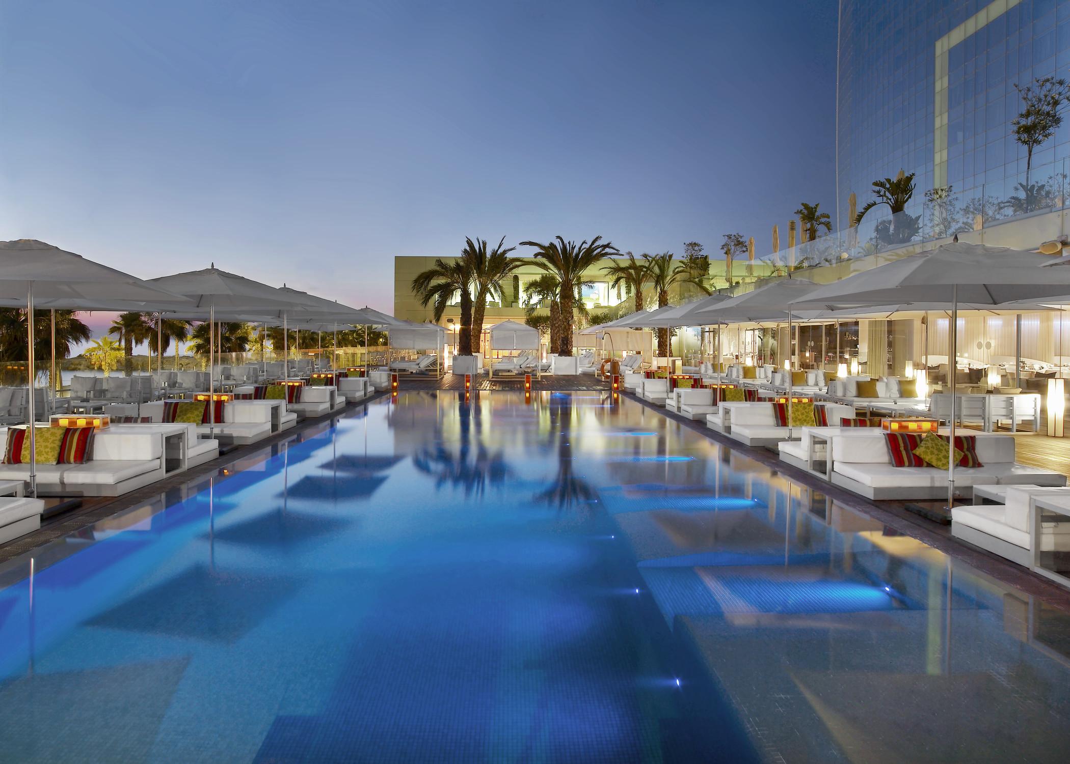 Las mejores piscinas de hotel espa olas Piscinas