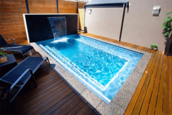Piscinas peque as para jardines peque os for Disenos de piscinas para casas pequenas