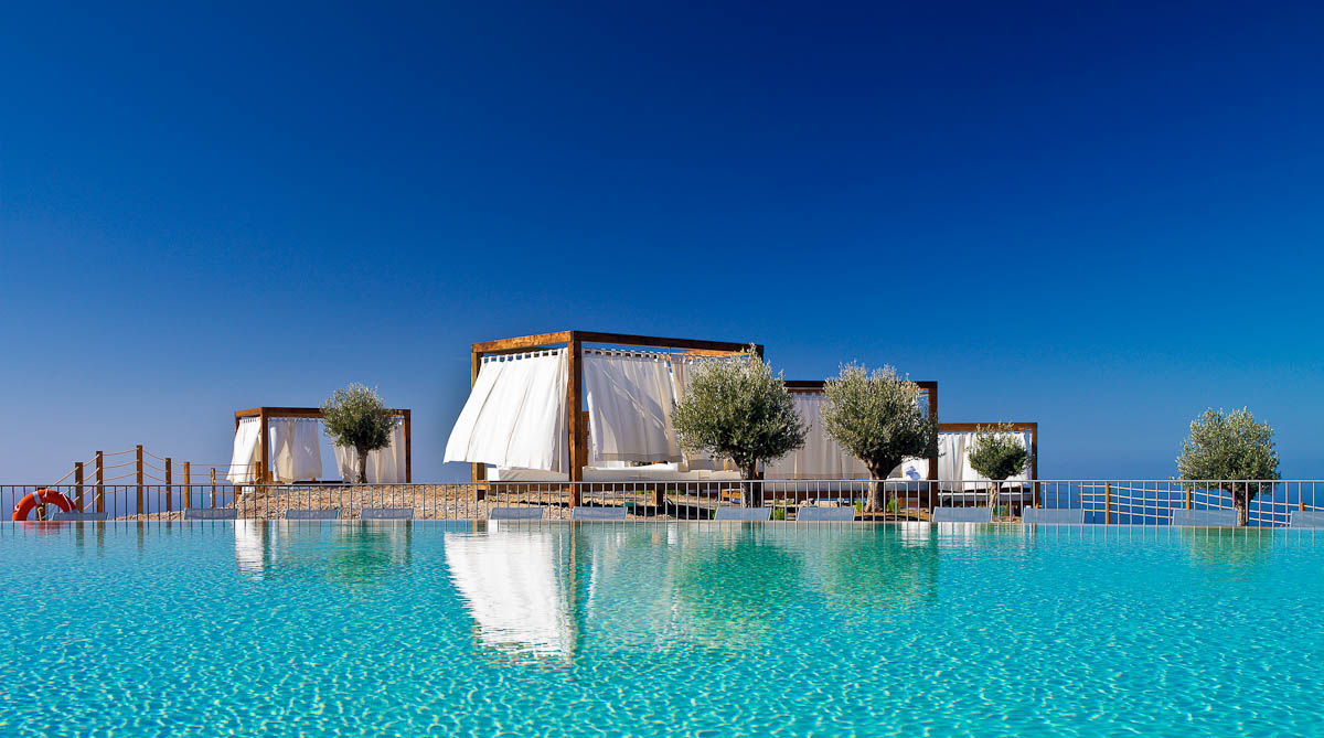 Las mejores piscinas infinitas de hotel en las islas for Piscinas desmontables ocasion