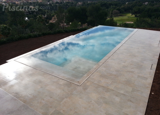 Im genes de protecno de piscinas sl for Detalle constructivo piscina desbordante
