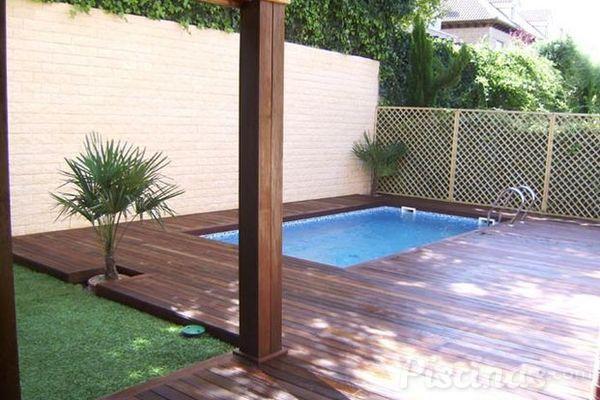 No renuncies a tu propia piscina aunque dispongas de poco for Piscinas para espacios reducidos
