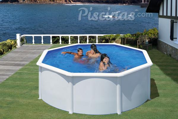 Piscina de plastico resistente for Plastico para piscinas desmontables