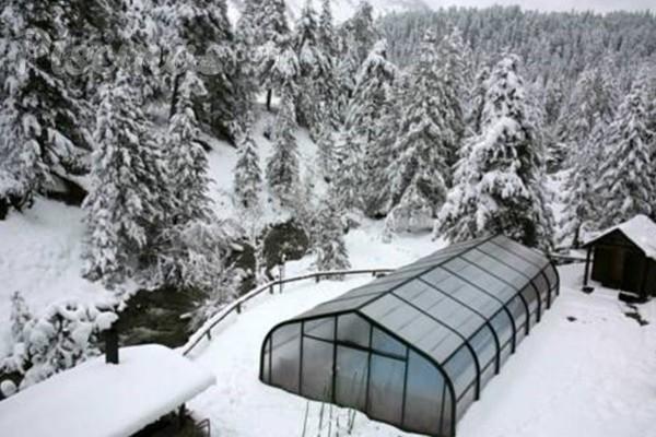 Piscinas naturales para disfrutar en invierno