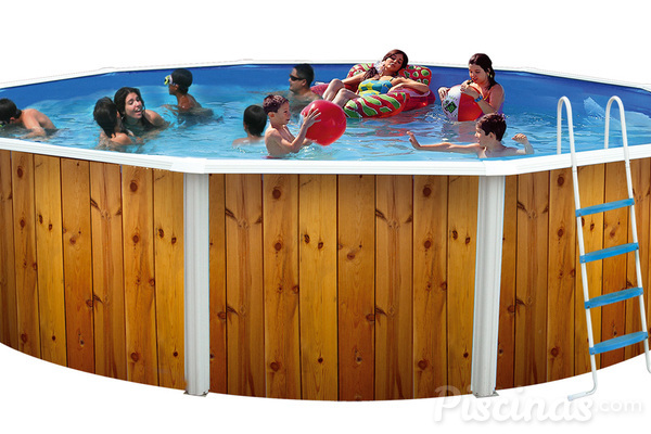 Piscinas desmontables un lujo accesible for Ofertas piscinas desmontables