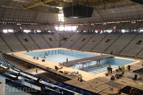 La piscina ol mpica de los mundiales de nataci n 2013 es for Piscina olimpica barcelona