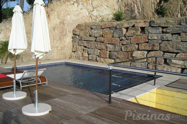 piscina desmontable agua turbia