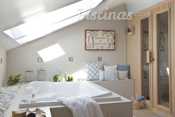 Una zona wellnes/spa en casa