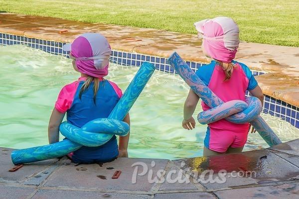La seguridad en la piscina