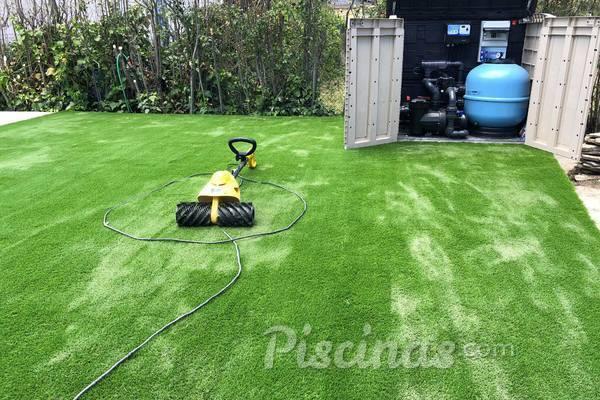 Césped artificial: Una buena opción para tu jardín