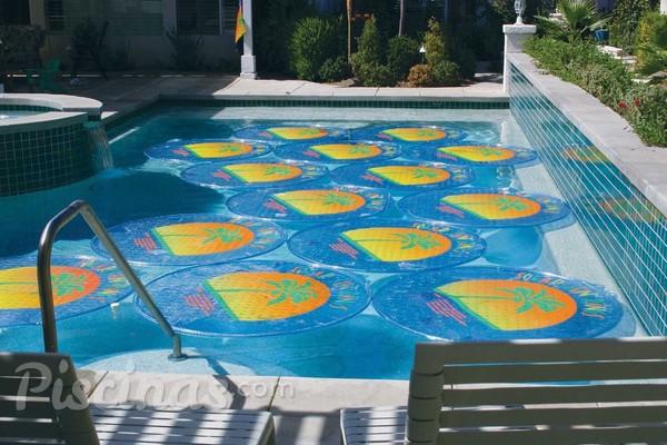 Discos solares calentar el agua de la piscina gastando for Calentar agua piscina