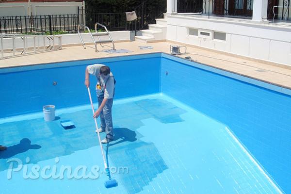 Pintura de caucho clorado la mejor soluci n para las for En la piscina