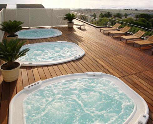 Soluciones y trucos para una piscina en la terraza - Minipiscinas para terrazas ...