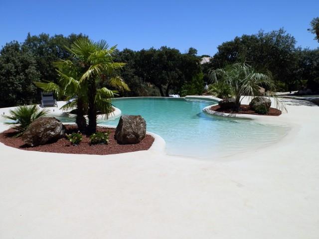 Tenemos las piscinas m s espectaculares for Piscina estilo playa