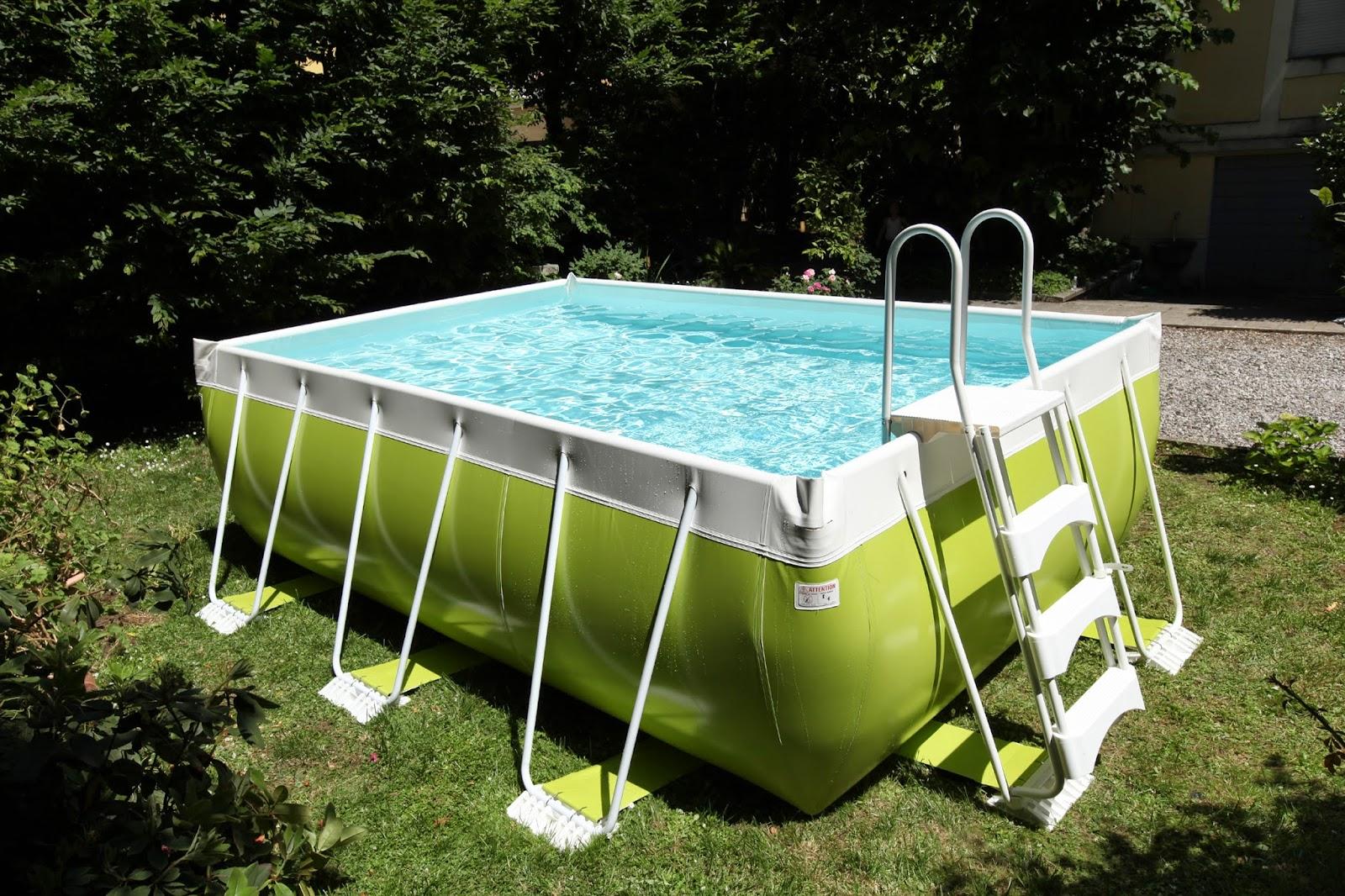 El color llega a las piscinas desmontables - Piscine smontabili ...