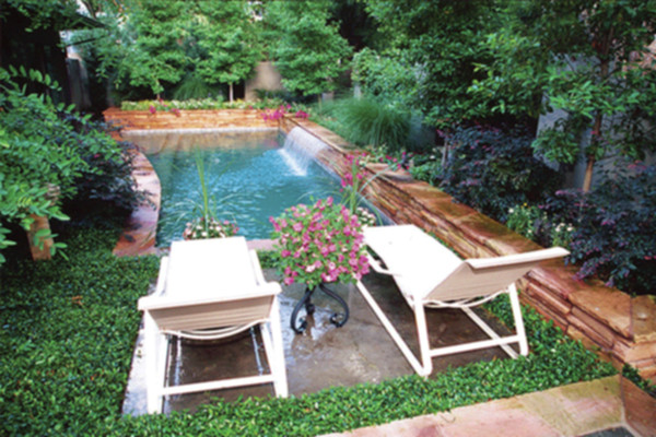 Piscinas peque as para jardines peque os - Awesome small swimming pools designs to refresh backyard area ...