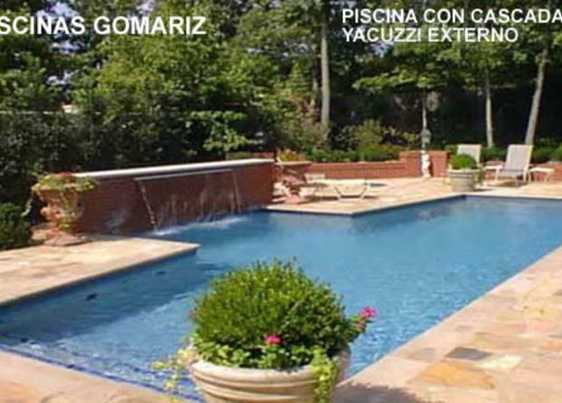 Im genes de piscinas gomariz for Piscinas con jacuzzi y cascada