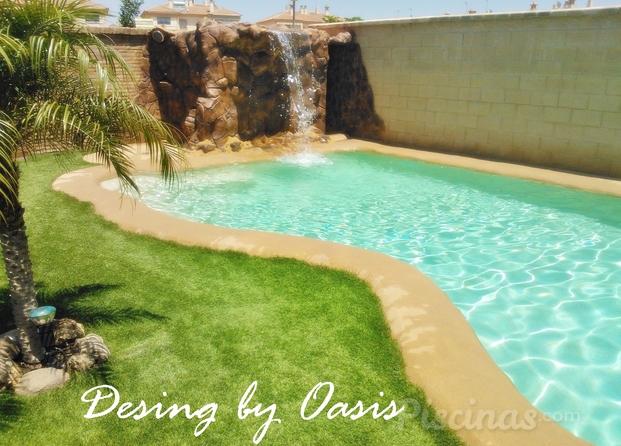 Im genes de oasis look - Microcemento piscinas ...