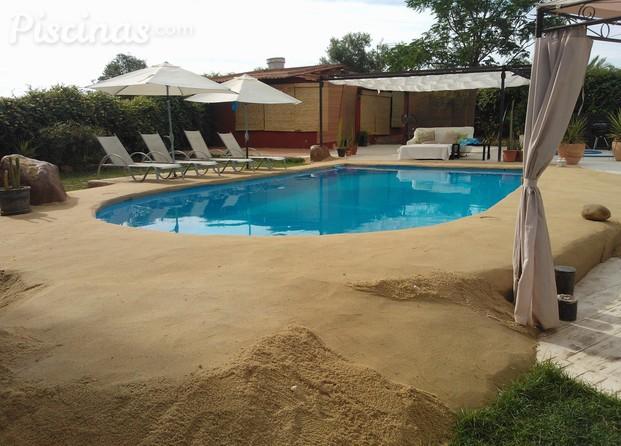 Im genes de oasis look for Construccion de piscinas de arena en argentina