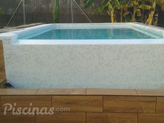 Brick piscinas - Piscinas en alto ...