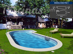 Ofertas de piscinas en madrid - Precio piscina obra 8x4 ...