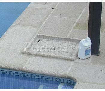 Platos de ducha de piedra para piscinas