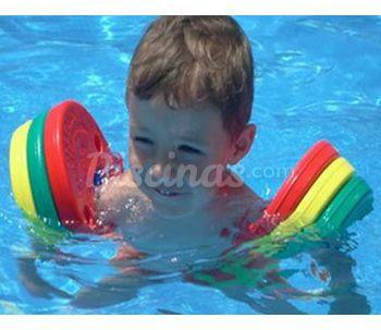 Cat logo de segurbaby for Manguitos piscina