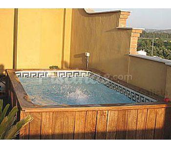 Cenefa de gresite tricolor cat logo for Cenefas para piscinas