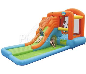 piscinas hinchables infantiles con toboganes