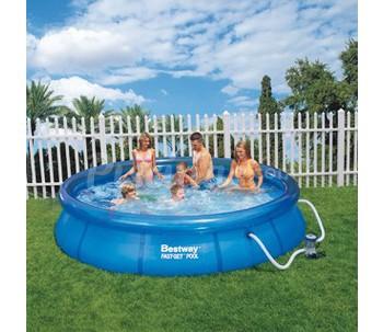 Piscinas sobre suelo barcelona for Ofertas piscinas bestway