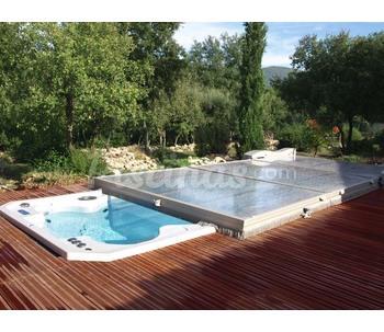 Cubierta baja Cubierta piscina precio