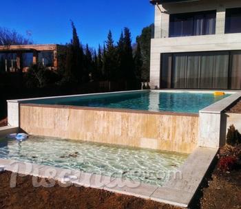 Estructuras de piscinas for Estructura para piscina