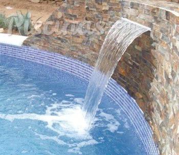Piscinas for Accesorios para piscinas cascadas