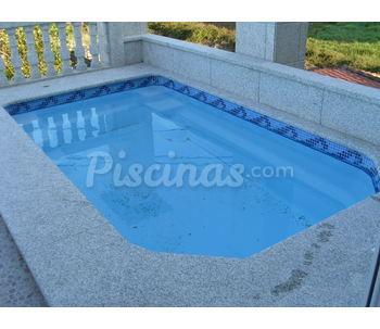Cat logo de piscinas miguez for Piscinas prefabricadas pequenas