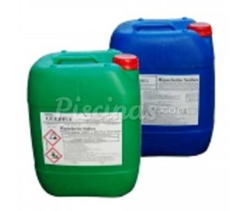 Hipoclorito de sodio cloro liquido for Cloro liquido para piscinas