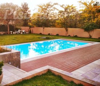 Estructuras de piscinas madrid Piscina interior precio