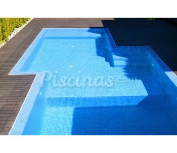 Cat logo de cbm piscinas deluxe for Precio piscina gunitada 8x4